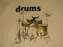 light drum kit shirt
