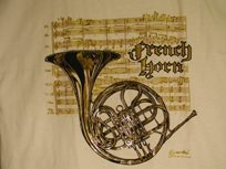 French Horn Tee-shirt