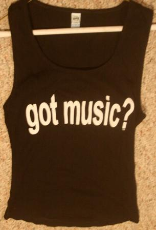 Got Music? Tank Top Shirt