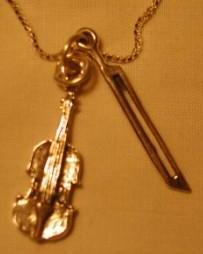 Violin and Bow Charms