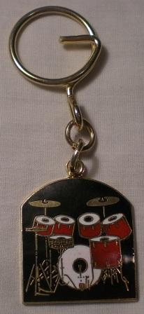 Drum Set Key Chain