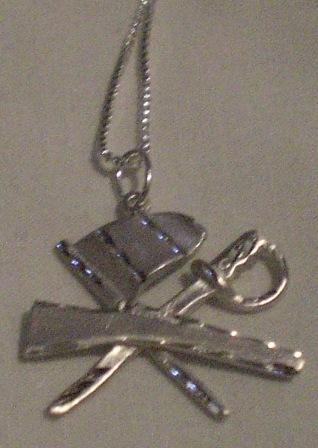 Color Guard Trio Pendant Necklace