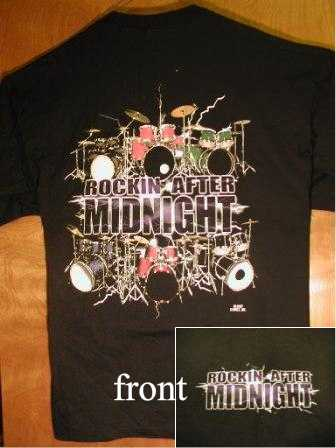 Rocking After Midnight Black Tee Shirt
