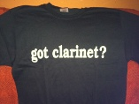 got clarinet shirt