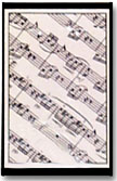 Sheet Music Deck of Cards